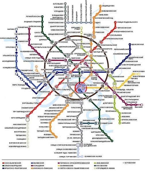 Как пройти Карта метро
